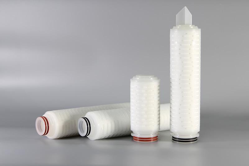 疏水聚四氟乙烯膜(PTFE)折叠滤芯