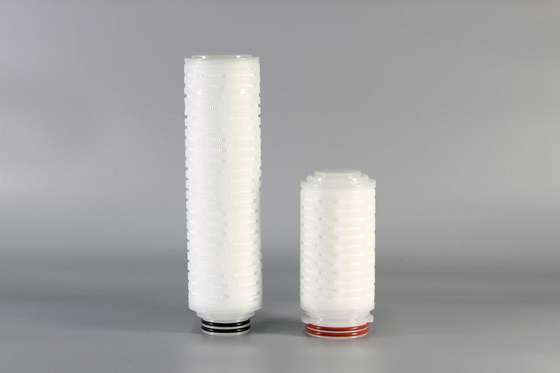 多层精度聚丙烯(DPP)折叠滤芯