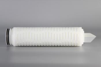 疏水聚偏二氟乙烯膜(PVDF)折叠滤芯