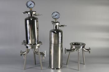 单芯不锈钢卫生级液体过滤器