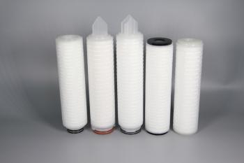 亲水聚四氟乙烯膜(PTFE)折叠滤芯